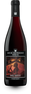 Save Me San Francisco Wine Co. Soul Sister Pinot Noir 2014...